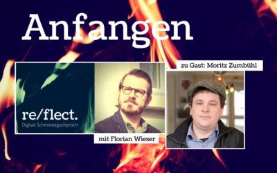 Podcast:  Über das Anfangen mit Moritz Zumbühl, Agenturinhaber und Gameschmiede-Gründer