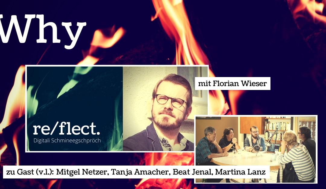 """Podcast:  Das Why aus unserem Stall """"ANIM"""" mit Tanja Amacher, Beat Jenal, Mitgel Netzer und Martina Lanz"""