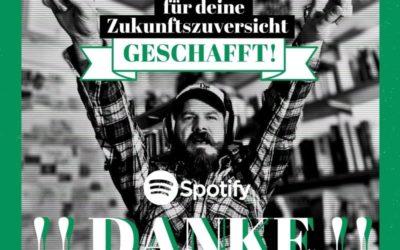 Zukunftszuversicht Playlist auf Spotify